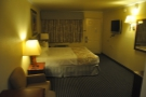 Like all American motel rooms, it was huge. This is the view from the back...