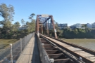 Finally, I went up to the bridge itself, where a footpath runs parallel to the tracks.