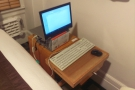 ... to create anything resembling a desk out of that, but I managed it!