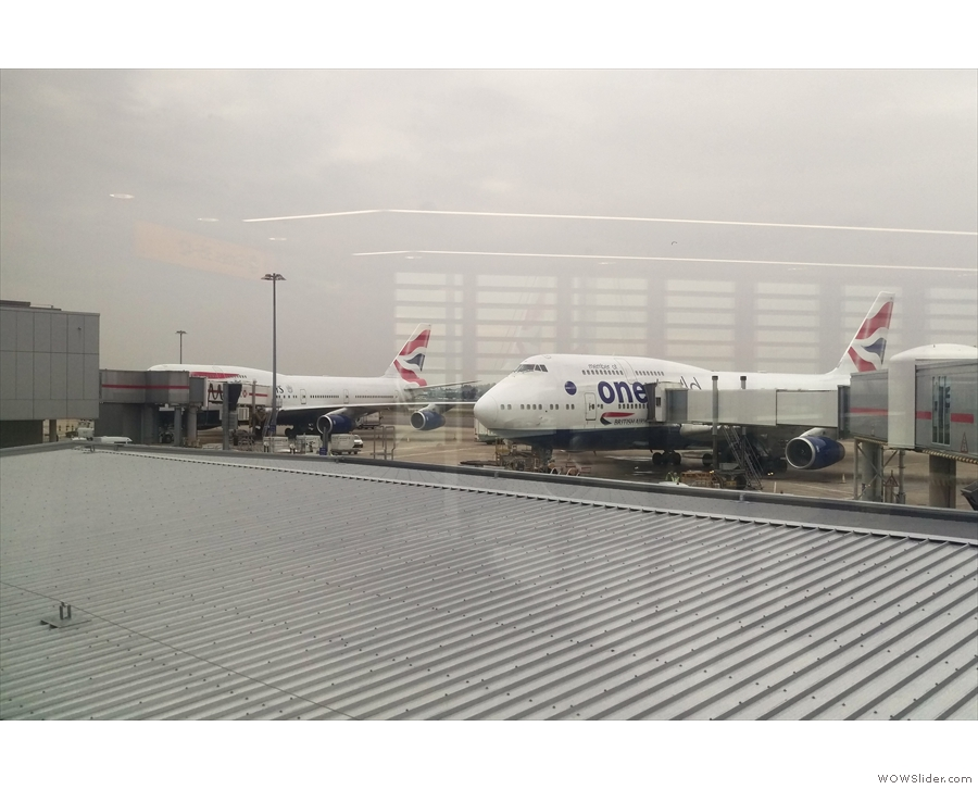 Towards the end of October, I was at a gloomy Heathrow Terminal 3, looking for a plane...
