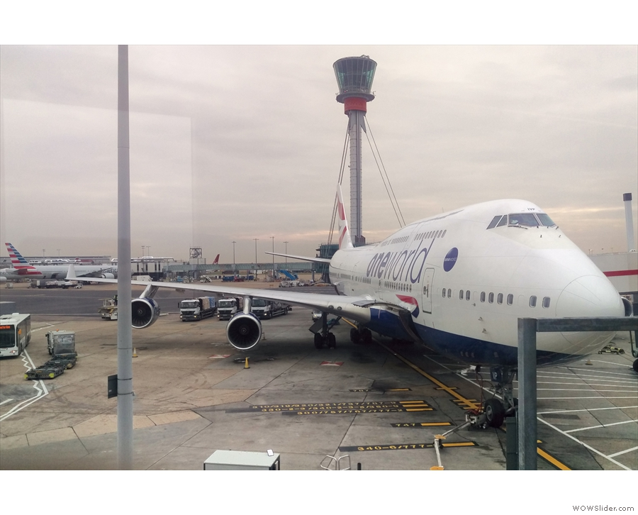 This one looks right! I'd forgotten how big 747s are until you get up close to them!