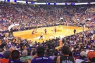 ... the season-opener, in fact, against the Sacromento Kings. The Suns lost by the way.