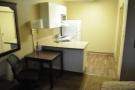 Being an Extended Stay meant I also had a little kitchen, not that I used it much.
