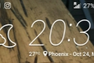 ... and this was Phoenix on the evening I arrived. 27⁰C. IN THE EVENING.