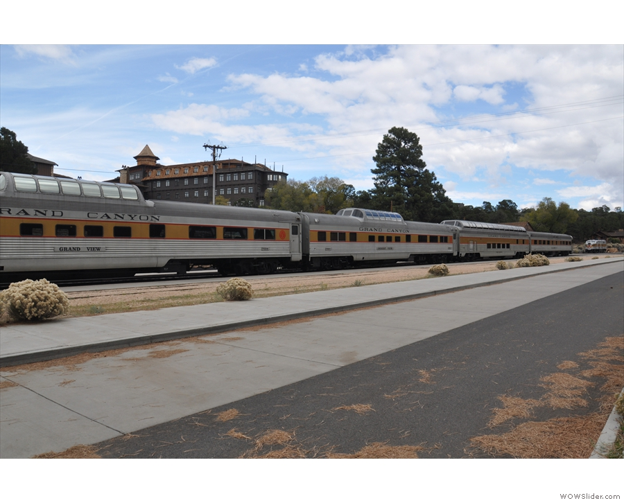 Williams is also home to the Grand Canyon Railway...