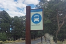 I was on Center Road. There's a handy (free) shuttle bus, but from there I could walk...
