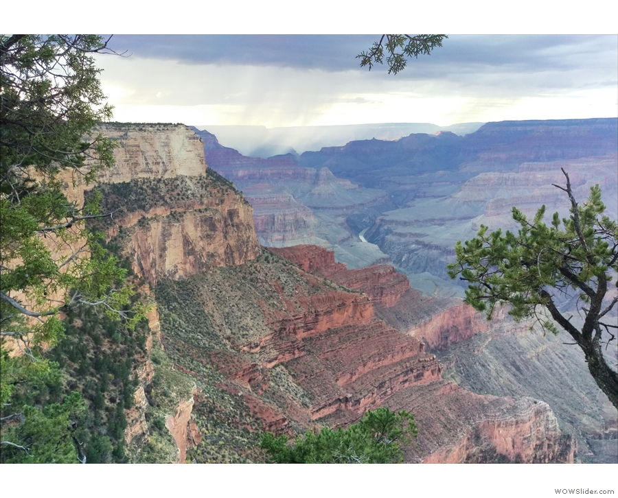You get to see the Grand Canyon in all its glory...