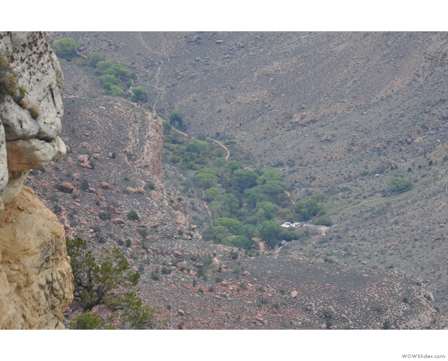 ... is Indian Garden, a stop on Bright Angel Trail. It's at the top of Garden Creek, which...