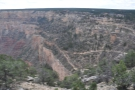 And I'm off! The early part of the hike has some great views of the top of Bright Angel Trail.