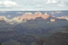 ...which looks out over the river. Meanwhile, check out the shadows on the north rim!