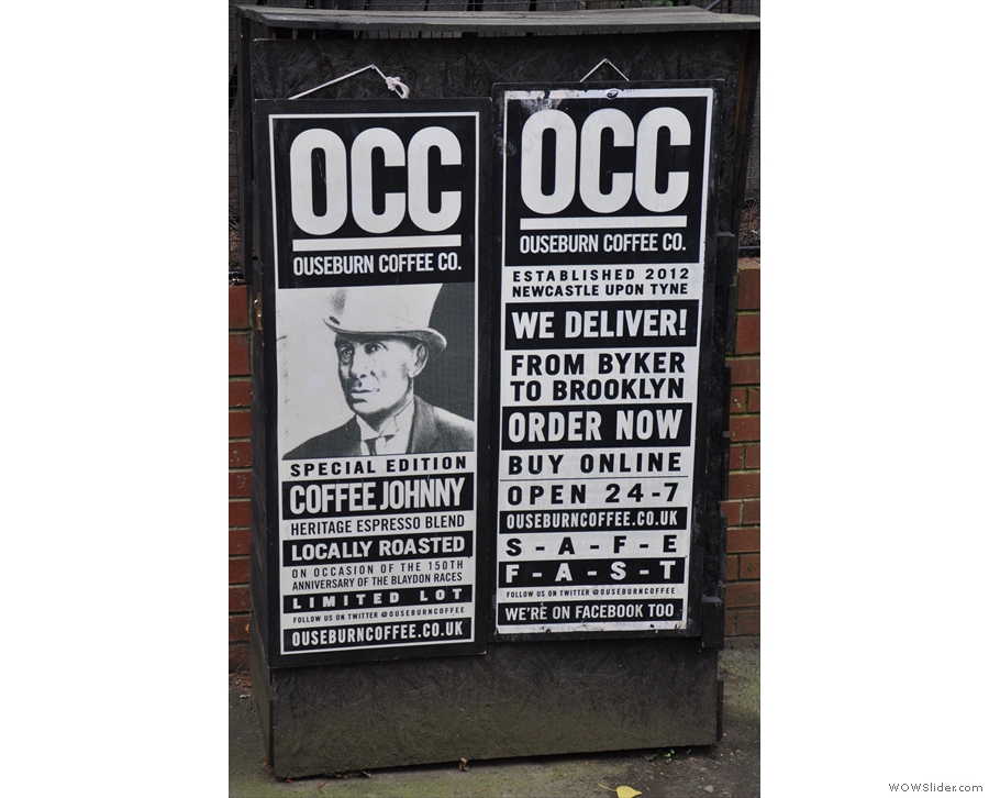 One of the many things I like about OCC is the very strong branding.