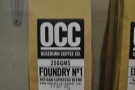 OCC only has two espresso blends: the signature Foundry No. 1...