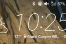 I took a screenshot on my phone before setting off: 10:25 in the morning.