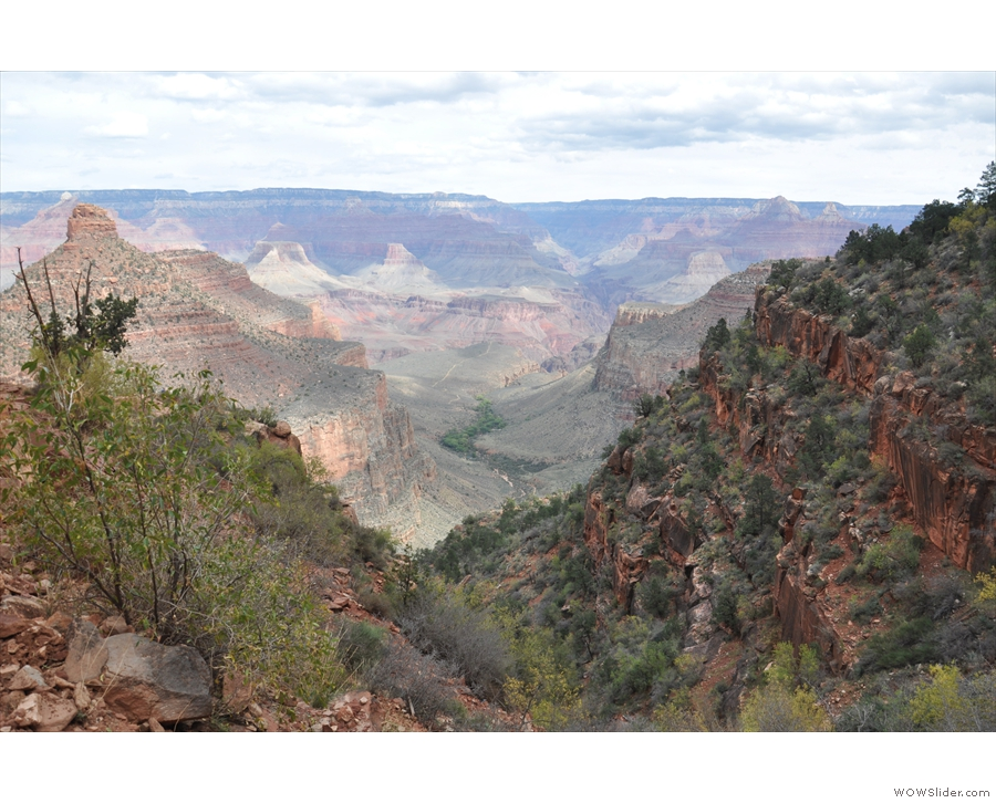 Beyond the Three Mile Resthouse is Indian Garden, and maybe (for me), Plateau Point.