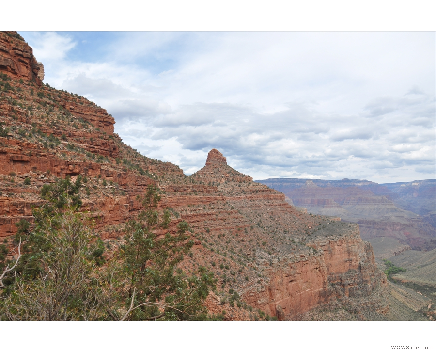 Across from it, the left (west) side of the valley was formed by this amazing...
