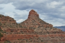 ... Maricopa Point. The rock formations at the top look very different from down here!