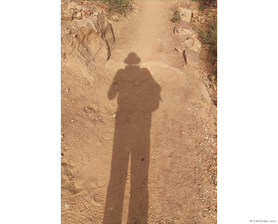 Shadow-selfie time.