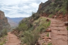 The switchbacks continue down...