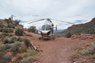 I soon found out where the helicopter had gone. It had landed on some open ground...