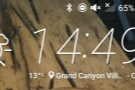 A quick timecheck. It's 14:49, almost exactly an hour after leaving Indian Garden!
