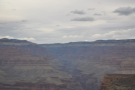 Looking directly ahead, that's Bright Angel Canyon, the most direct route to the North Rim.