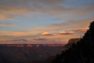 It's not just the colours on the North Rim though. It's also the clouds, both on the far...