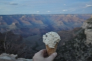 With apologies for the blurry canyon (my focus was on my ice cream), I'll leave you here.