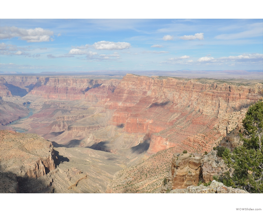I'll leave you with a view of the Marble Platform, at this point, the east rim of the canyon.
