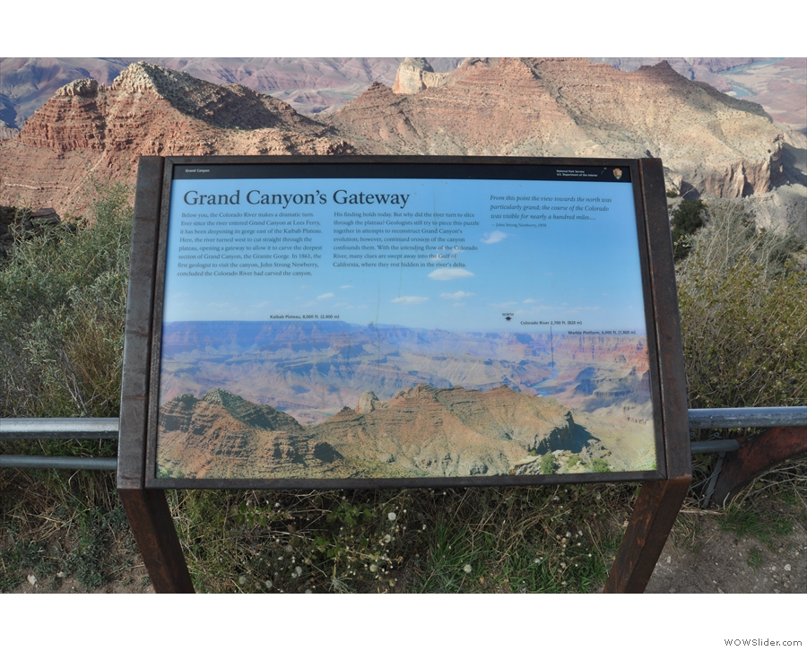 My final stop was at Navajo Point, which is within sight of the...