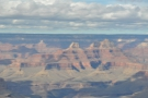 ... fantastically eroded rock formations in the foreground. These are to the west...