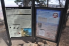 As well as being a viewpoint, it's also the trailhead for the short Grandview Trail.