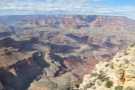 The view across the Grand Canyon to the North Rim...