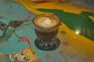 Since it was on the menu, I had to try the Cortado.