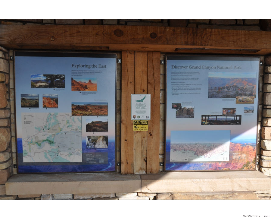 ... and others welcoming you to the area (it is the eastern gateway to the Grand Canyon).