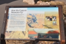 There are other information boards here about the Grand Canyon (more on that soon)...