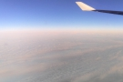 I didn't have a window seat, but I did get to look out at various points while I wandered...