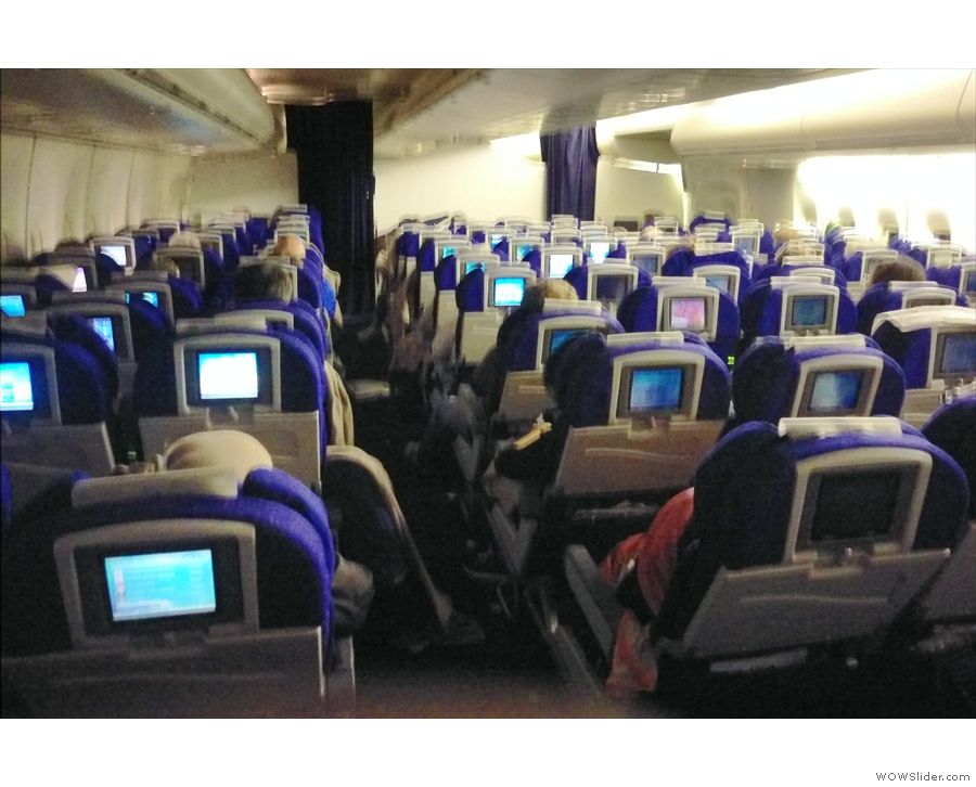 On both flights, I was back in economy, although little did I know it was for the last time.