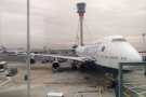In October that year, I went to Phoenix for the first time, flying there and back on 747s.