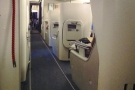 My bulkhead seat, looking at Club World, where I'd be the next time I was on a 747.