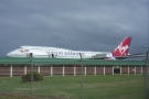 I flew back from St Lucia two weeks later, on another Virgin Atlantic 747.