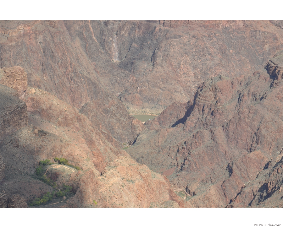 ... and once again, if you look below it and to the right, you can see the Colorado River.