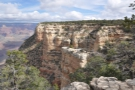 ... heading east, with the aim of reaching Yavapai Point, which you can see in the distance.