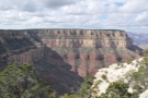... while further along you can see Bright Angel Trail descending from the South Rim.