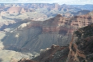That ridge, which descends into the canyon is effectively...