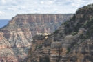 At the top is Yaki Point, where you can see the South Kaibab Trail descending the cliff face.