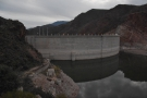 The Apache Trail was built during the construction of this, the Theodore Roosevelt Dam.