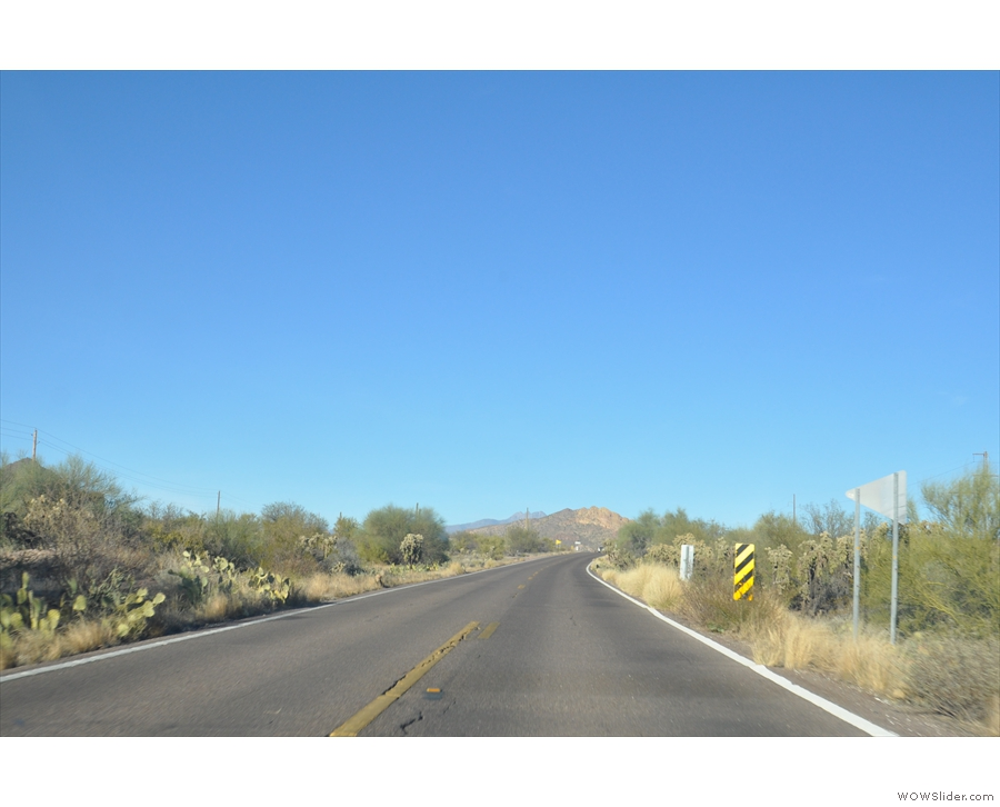 ... to Apache Junction, and the start of the Apache Trail. Mountains here I come!