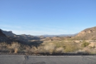 ... my next (very brief) stop was at Apache Gap. This is the view north, where the road...