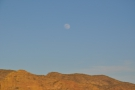 I also liked that the moon was up and very visible.