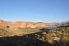 ... drops down to Canyon Lake. This is near the bottom, at Canyon Lake Vista, where...